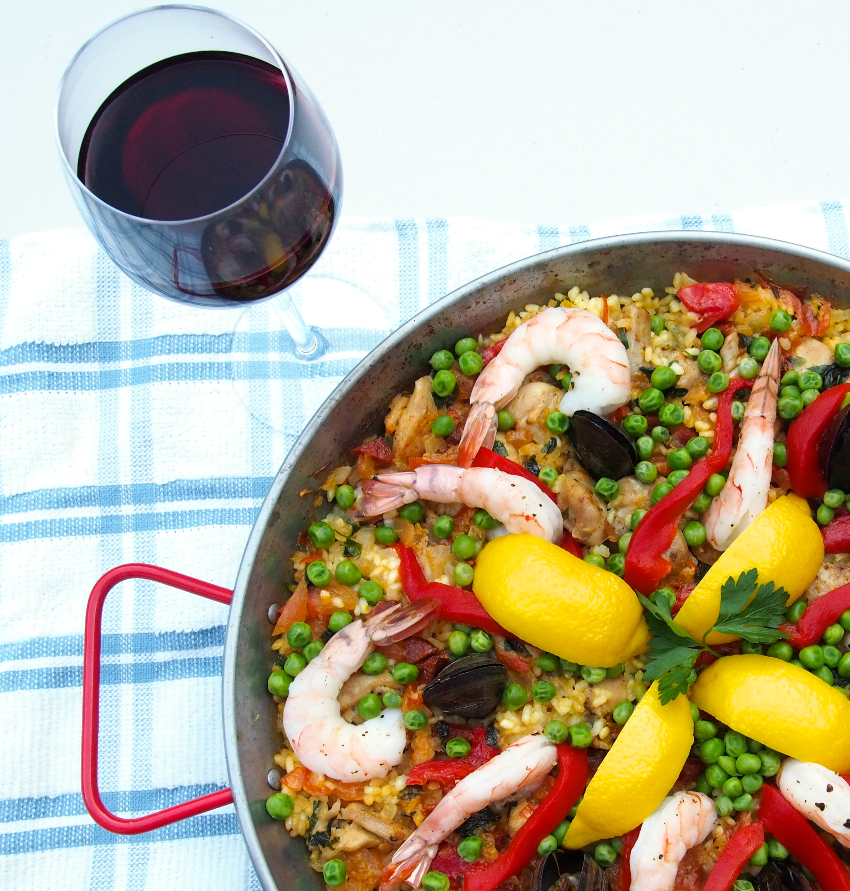 and i have made paella before but we recently learned from a paella ...