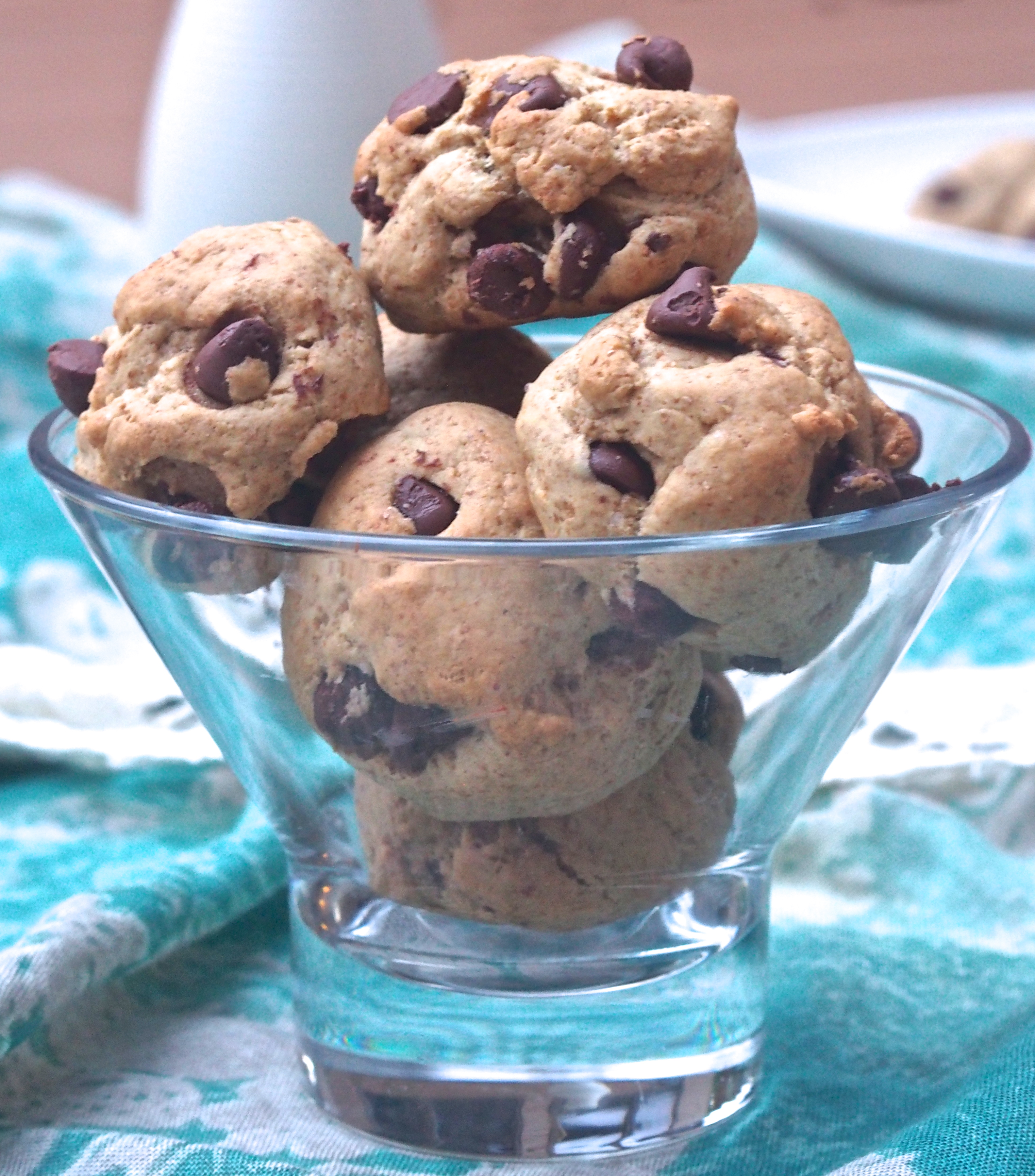 Chocolate Chip Cookie Balls - Not Your Average College Food