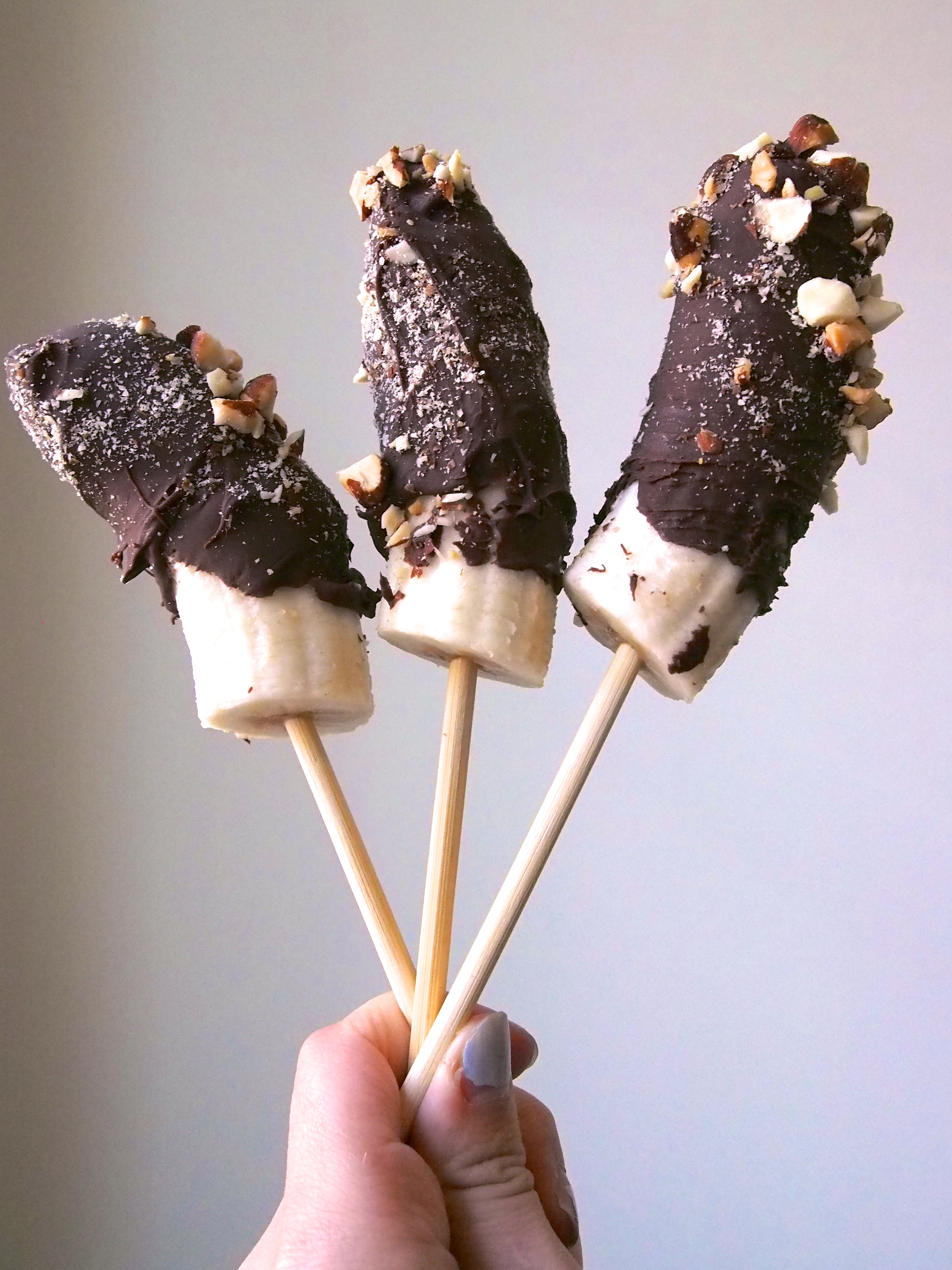 Frozen Chocolate-Covered Bananas - Not Your Average ...